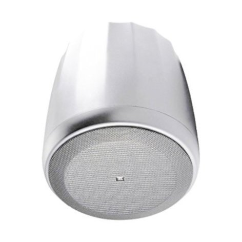 JBL Control 67 HC/T High Ceiling Pendant Speaker in White with Narrow 75° Coverage C67HC/T-WH