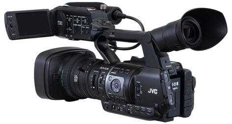 JVC GY-HM660U ProHD Mobile News Camera with 23x Lens GYHM660U