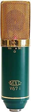 MXL Microphones MXL-V67I Dual Capsule Microphone MXL-V67I