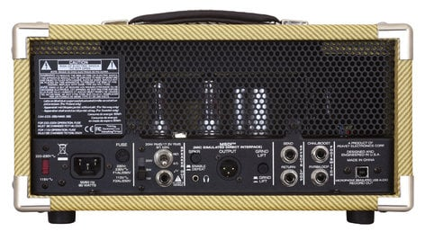 Peavey CLASSIC-20-MH-RST-01 20W Compact Tube Guitar Amplifier Head CLASSIC-20-MH-RST-01