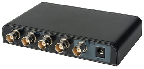 OCEAN MATRIX OMX-SDI-1X4-RST-01 3G SDI 1x4 Splitter - Distribution Amplifier OMX-SDI-1X4-RST-01
