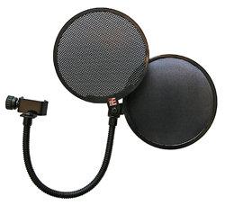 SE Electronics Dual Pro Pop Filter Metal and Fabric Professional Microphone Pop Shield DUAL-PRO-POP