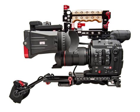Canon EOS C300 Mark II Cinema EOS 4K Camera With EF Mount And Zacuto  Z-Finder Kit