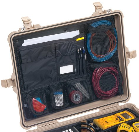 Pelican Cases PC1609 Lid Organizer for 1600, 1610 and 1620 Cases PC1609