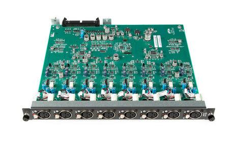 Avid SRI (Stage Rack Input) Card [RESTOCK ITEM] for VENUE Stage Rack with 8 Analog XLR Inputs SRI-192-RST-01