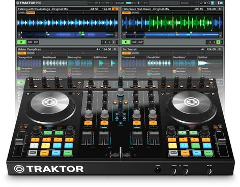 Native Instruments TRAKTOR-KONTROL-S4-2 4+1 DJ Controller TRAKTOR-KONTROL-S4-2