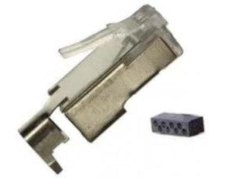 Liberty AV Solutions 111S08080016C34 RJ45 Cat 5e Shielded 8P8C Plug 111S08080016C34
