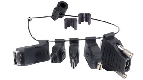 Liberty AV Solutions DL-AR Universal HDMI Adapter Ring Complete Assembly with 5 Adapters DL-AR