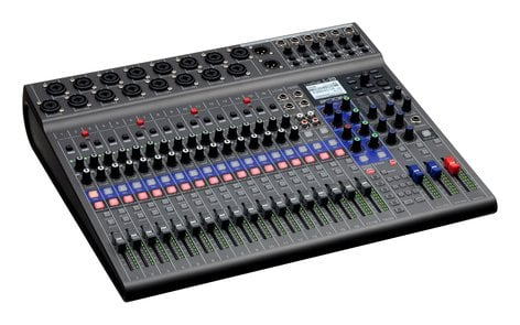 Zoom L-20 20 Channel Digital Mixer With 22 Track Recorder L-20