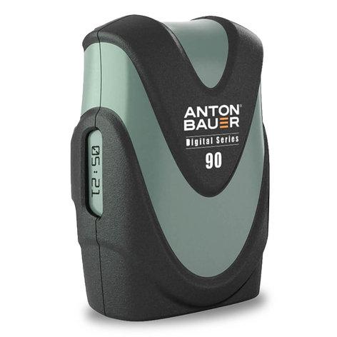 Anton Bauer DIGITAL-G90 Gold Mount Digital Battery - 14.4v, 89w/h DIGITAL-G90