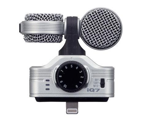 Zoom IQ7 iOS Dual Capsule Connector Microphone for iPhone, iPod touch, iPad, and iPad Mini IQ7