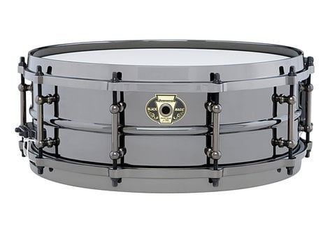 """Ludwig Drums LW5514 5"""" x 14"""" Black Magic Brass Snare Drum LW5514"""