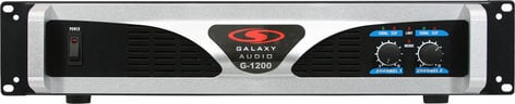 Galaxy Audio G-1200 1200 Watt Power Amplifier