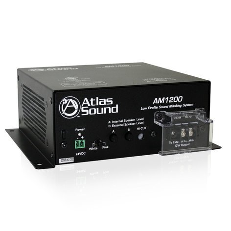 Atlas Sound AM1200 Sound Masking System, Low Profile AM1200