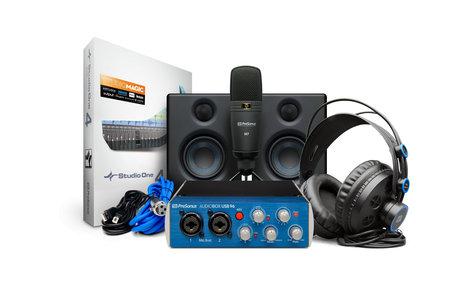 PreSonus AUDIOBOX-96-STU-ULT Deluxe Hardware/Software Recording Collection AUDIOBOX-96-STU-ULT