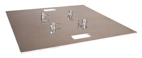 """Global Truss BASEPLATE-30X30A 30"""" x 30"""" Aluminum Truss Baseplate BASEPLATE-30X30A"""