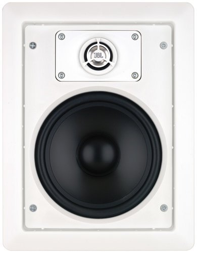 "JBL Control 126 WT 6.5"" 2 Way In-Wall Loudspeaker with 70/100V Transformer in White CONTROL-126WT"