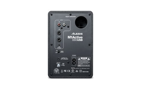 Alesis M1A330USB Stereo Pair of Professional USB Audio Speakers M1A330USB