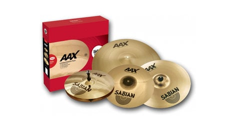 Sabian 25005XXP Limited Edition AAX Cymbal Pack AA Performance Series Cymbal Pack 25005XXP