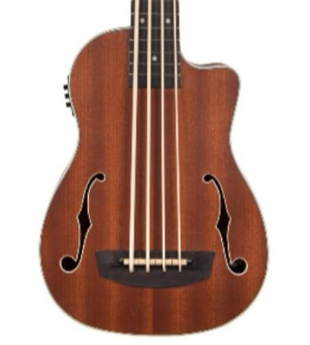 Kala UBASS-JYMN-FS Journeyman Acoustic Electric U-Bass with F Holes UBASS-JYMN-FS