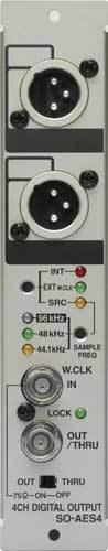 Roland System Group SOAES4 AES/EBU Output Module for RSS S-4000 SOAES4