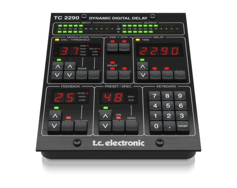 TC Electronic TC2290-DT 2290 Dynamic Audio Delay Plug-In with Dedicated Desktop Interface TC2290-DT