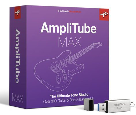 IK Multimedia AMPLITUBE-MAX  AmpliTube 4 Family Bundle [VIRTUAL]  AMPLITUBE-MAX