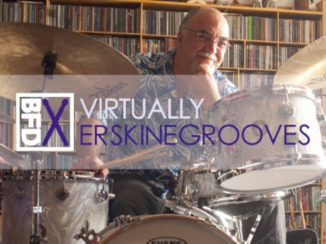 FXpansion BFD-ERSKINE-G  400 Groove Patterns by Peter Erskine [VIRTUAL] BFD-ERSKINE-G