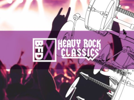FXpansion BFD-HEAVY-ROCK-G  All-time Classics of Heavy Rock Genre [VIRTUAL] BFD-HEAVY-ROCK-G