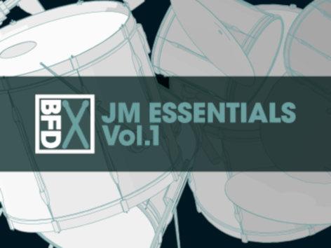 FXpansion BFD-JM-ESSENTIALS-1  JM Essentials Vol.1 BFD Groove Pack [VIRTUAL] BFD-JM-ESSENTIALS-1