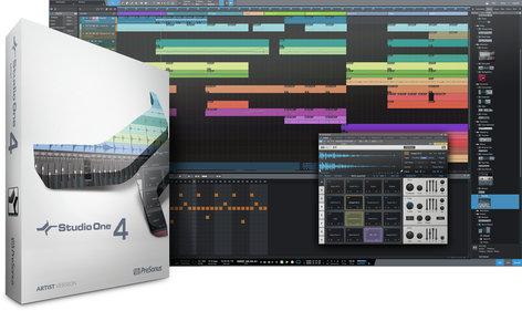 PreSonus S1-4-ART-EDU Studio One 4 Artist [DOWNLOAD] Creative Music Software S1-4-ART-EDU