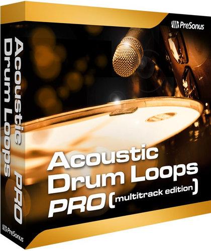 PreSonus ACOUSTIC-DRUM-MULITR  Acoustic Drum Loops-Mulitrack [VIRTUAL] ACOUSTIC-DRUM-MULITR