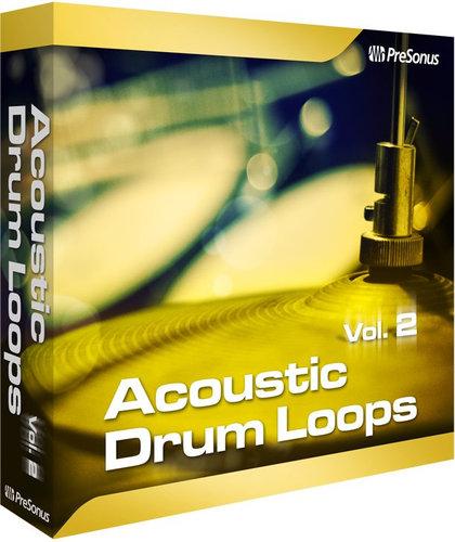 PreSonus ACOUSTIC-DRUM-VOL-2  Acoustic Drum Loops Vol. 2 [VIRTUAL] ACOUSTIC-DRUM-VOL-2