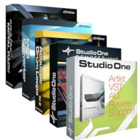 PreSonus ARTIST-BOOSTER-PACK  Add-Ons for Studio One Artist [VIRTUAL] ARTIST-BOOSTER-PACK