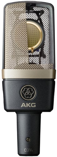 AKG C314-BSTOCK  Professional Multi-Pattern Condenser Microphone C314-BSTOCK