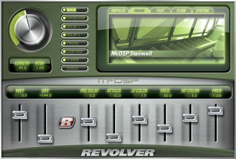 McDSP Revolver Native Flexible Convolution Reverb Plug-in REVOLVER-NATIVE