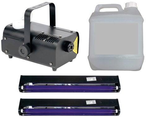 Full Compass FOG-UVx2-K Black Light and Fogger Package FOG-UVx2-K