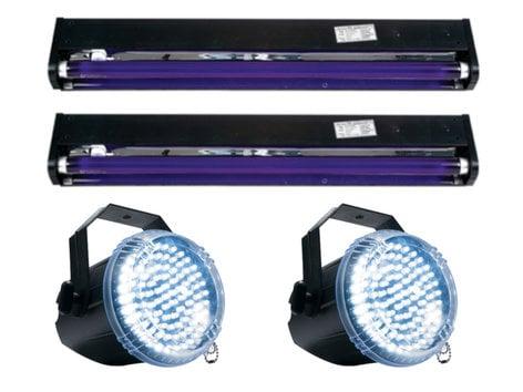 Full Compass UV-STROBE-X2-K Black Light and Strobe Package UV-STROBE-X2-K