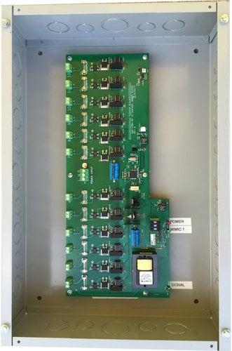 Doug Fleenor Designs DMX12DIM-ELV-JBOX 12-Channel DMX Dimmer Pack In  Junction Box, Reverse Phase, 100W Per Channel