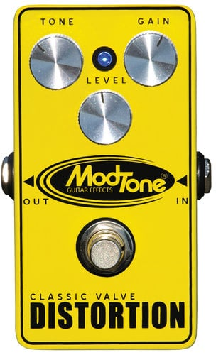 ModTone Effects MT-CD  Classic Valve Distortion Effects Pedal MT-CD