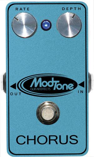 ModTone Effects MT-CHR  Chorus Blue Sparkle Effect Pedal MT-CHR