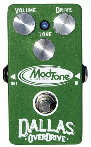 ModTone Effects MT-DO  Dallas Overdrive Effects Pedal MT-DO