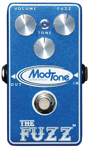 "ModTone Effects MT-FZ Pro Series Effect Pedal ""The Fuzz"""