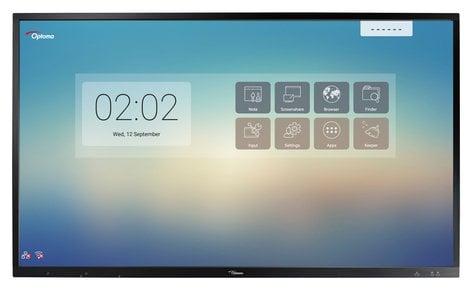 "Optoma OP651RK  65"" 4K Creative Touch Interactive Flat Panel  OP651RK"