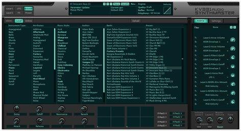 KV331 Audio KV SynthM Everything Bundle SynthMaster + Expansion Banks  [download]