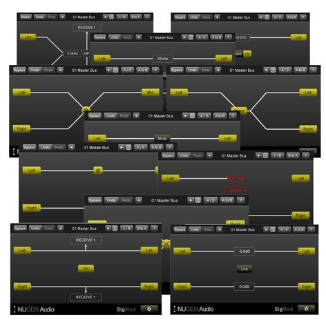 NuGen Audio SIGMOD 11 Signal Modification Modules In 1 Plug