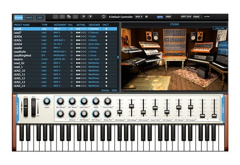 Arturia Analog LAB 3 License Instinctive Keyboard Sound Collection  [download]