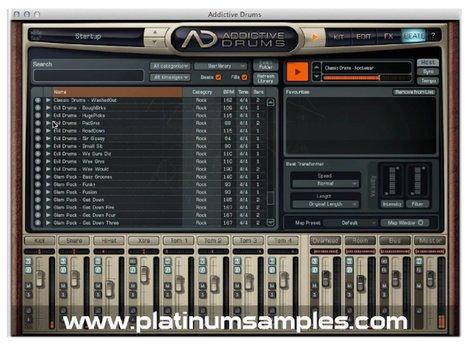 Platinum Samples Platinum Grooves 1 Lib  Multi-Format MIDI Groove Library  [download]