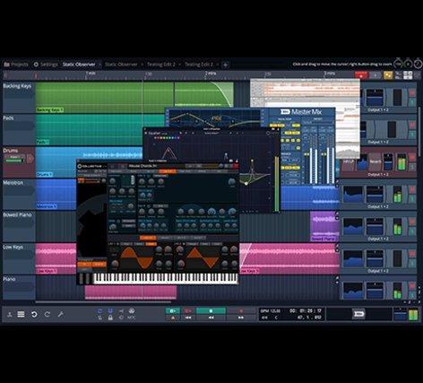 Tracktion Waveform Plus Mid Level Version Of Traktion's Professional DAW  [download]