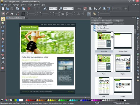 Magix Xara Designer Pro X Graphic And Web Design Software Download Full Compass Systems
